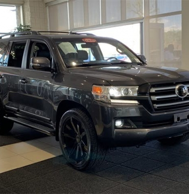 A Fairly Used 2017 Toyota Land Cruiser Full option