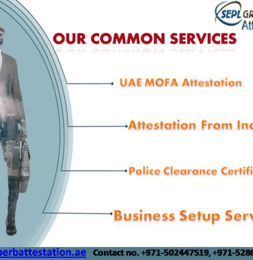 MOFA Attestation Service in Dubai