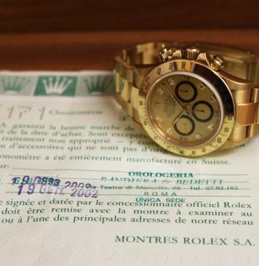 Rolex Daytona Zenith – Full Gold – Diamonds Dial stunning