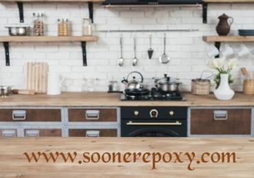Epoxy kitchen floor residential | Polished Concrete Floors in Norman Oklahoma | Soonerepoxy