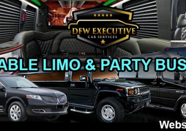 Limousine bus Texas